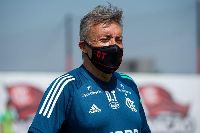 Reprodução Twitter Flamengo - Foto: Alexandre Vidal/CRF