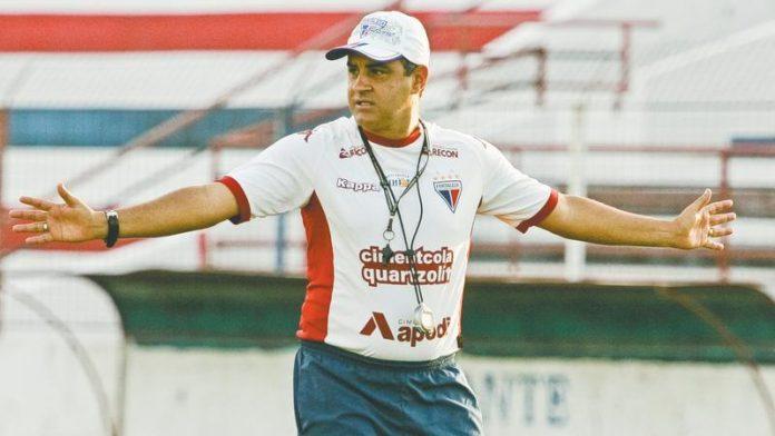 Legenda: Chamusca foi campeão cearense pelo Fortaleza em 2015 Foto: Kiko Silva/SVM (Reprodução)
