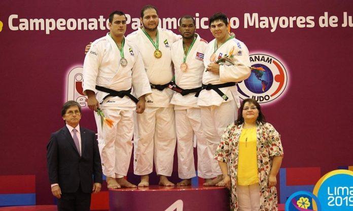 Brasil foi ouro e prata nos pesados masculino (divulgação)