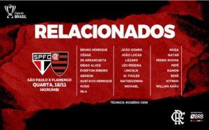 Reprodução Flamengo