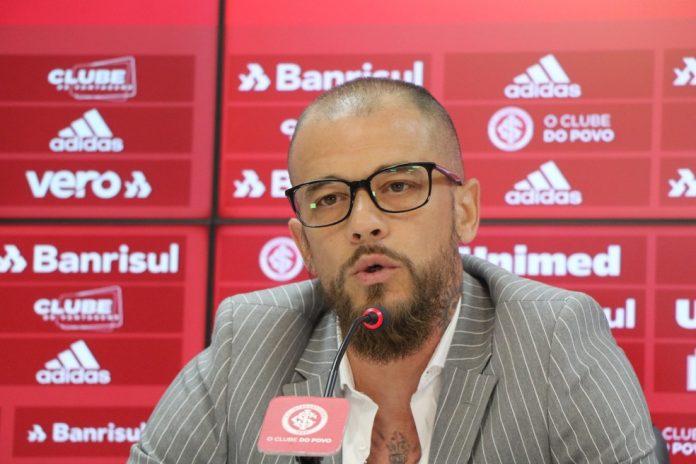 D'Alessandro anunciou a saída do Inter — Foto: Ricardo Duarte / Internacional
