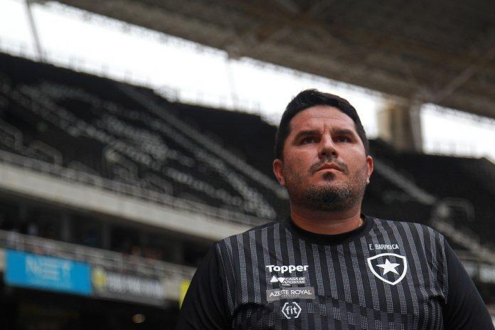 Eduardo Barroca é o novo treinador do Botafogo — Foto: Vitor Silva/Botafogo