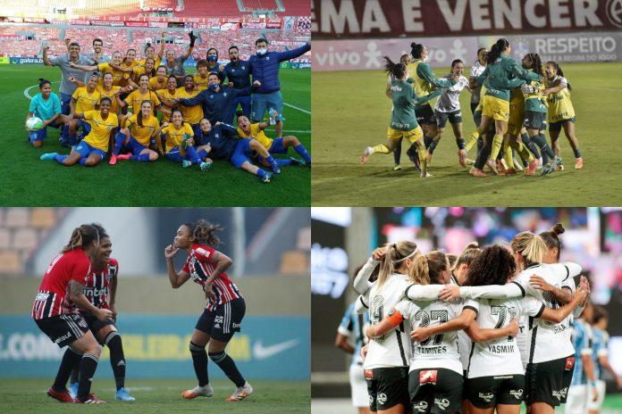 Fotos: @BRFeminino e @SCCPFutFemino - montagem Jornal Esportes