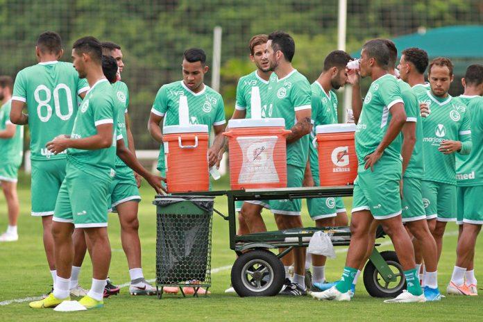 Elenco esmeraldino se prepara para duelo contra o Corinthians — Foto: Rosiron Rodrigues