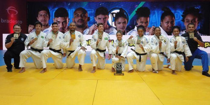 Pinheiros vence a Copa Brasil de judô — Foto: Lara Monsores/CBJ
