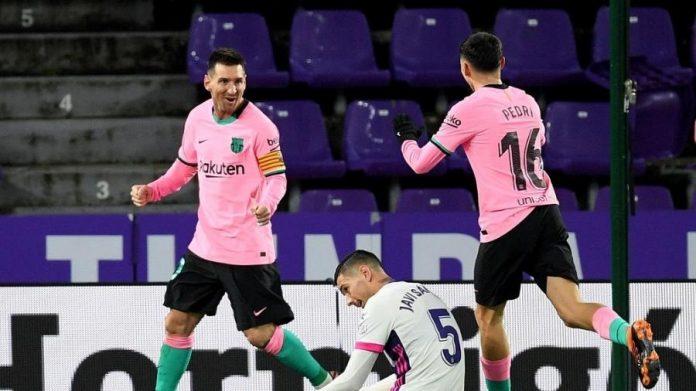Barcelona e Real Valladolid se enfrentam pelo Campeonato Espanhol