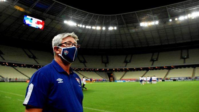 Odair Hellmann está de saída do Fluminense — Foto: Mailson Santana / FFC