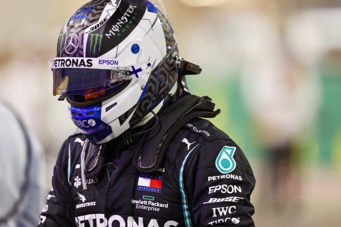 Bottas foi apenas o oitavo colocado no GP de Sakhir — Foto: Divulgação