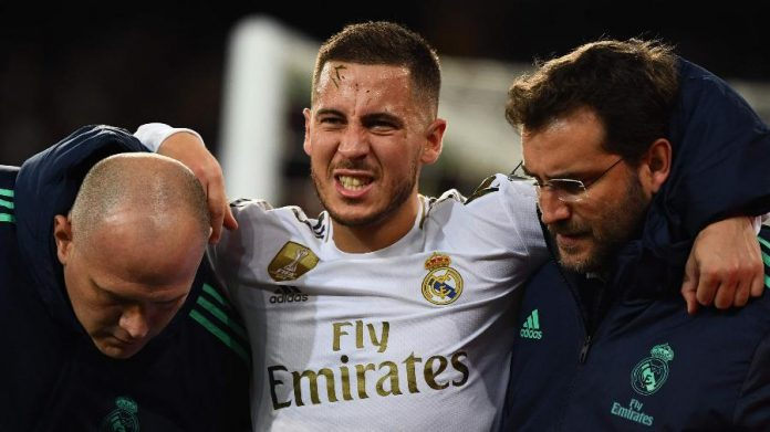 Belga sofre com uma série de lesões desde que assinou com o clube espanhol Imagem: GABRIEL BOUYS / AFP