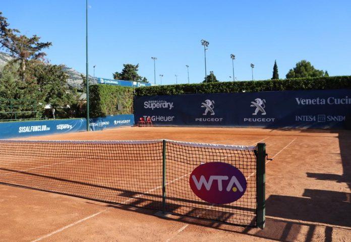 WTA de Palermo, na Itália — Foto: Divulgação / Twitter