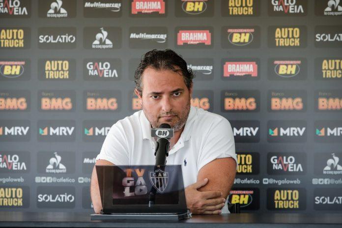 Alexandre Mattos, diretor de futebol do Atlético-MG — Foto: Bruno Cantini/Atlético-MG