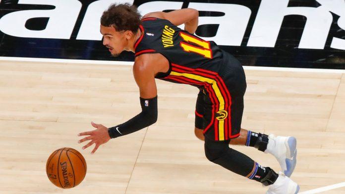 Young é o destaque dos Hawks na vitória contra os 76ers