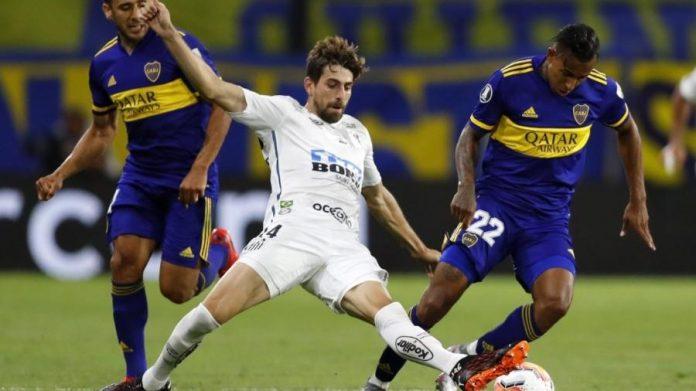 Boca Juniors e Santos empataram por 0x0.