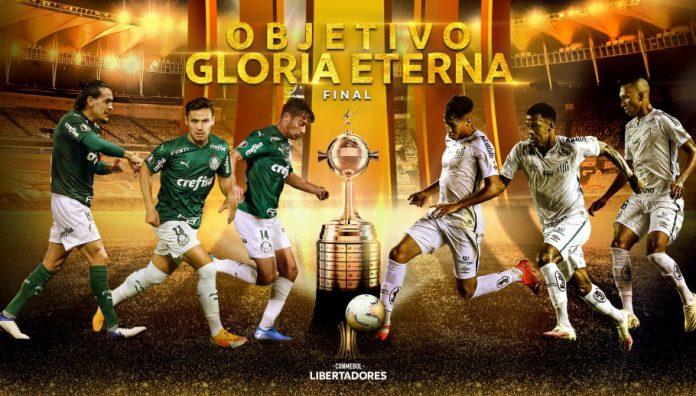 Palmeiras e Santos se enfrentarão na final da Libertadores 2020, no Maracanã