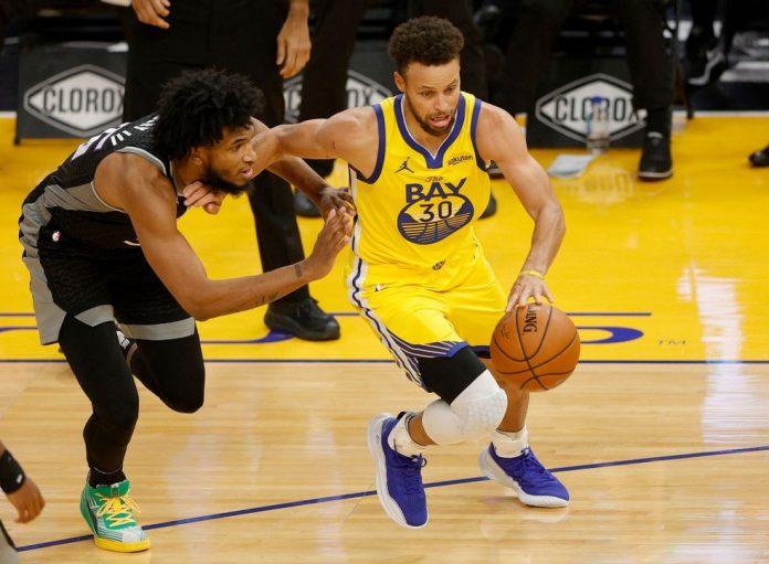 Stephen Curry comanda vitória dos Warriors