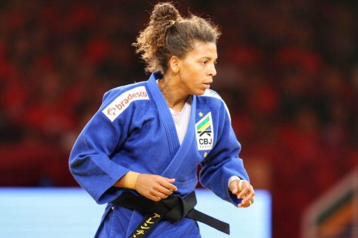 Rafaela Silva está fora dos Jogos de Tóquio — Foto: Abelardo Mendes Jr/ rededoesporte.gov.br