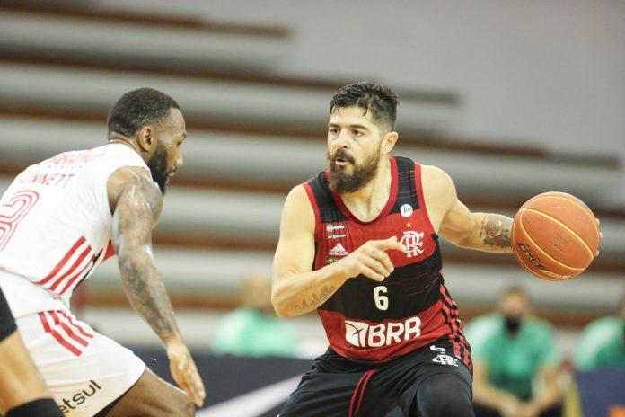 Balbi foi um dos destaques do Flamengo na vitória — Foto: Wilian Oliveira/Futura Press