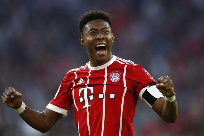 Alaba Bayern Raio-X — Foto: AP