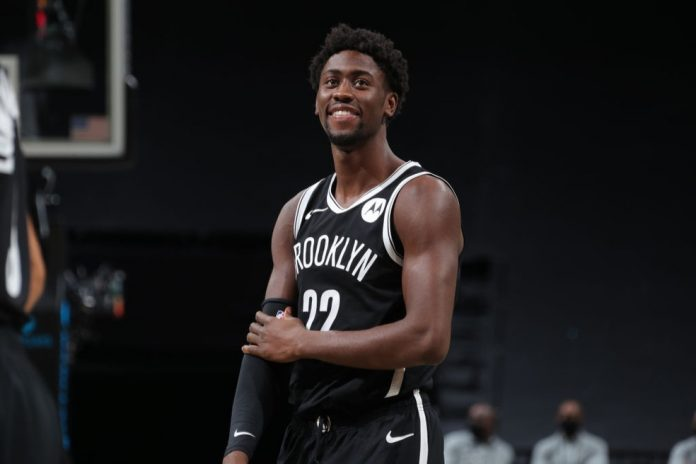 Caris LeVert, ala do Brooklyn Nets trocado para o Indiana Pacers — Foto: Nathaniel S. Butler/Getty Images