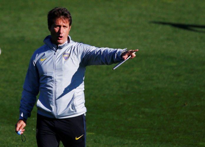 Schelotto comandou o Boca entre 2016 e 2018 — Foto: Reuters