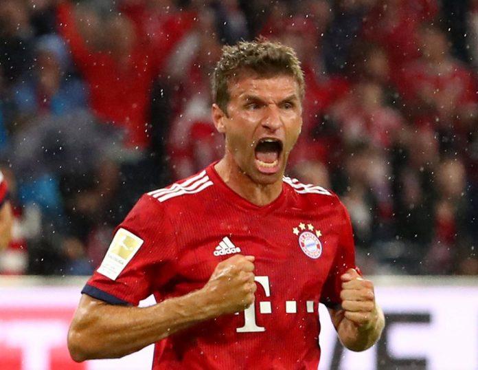 Bayern Hoffenheim Muller — Foto: Reuters