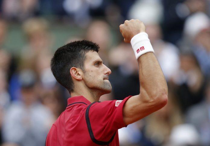 Novak Djokovic na final de Roland Garros 2016