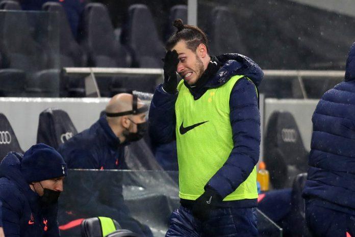Gareth Bale segue tendo problemas físicos no Tottenham — Foto: Getty Images
