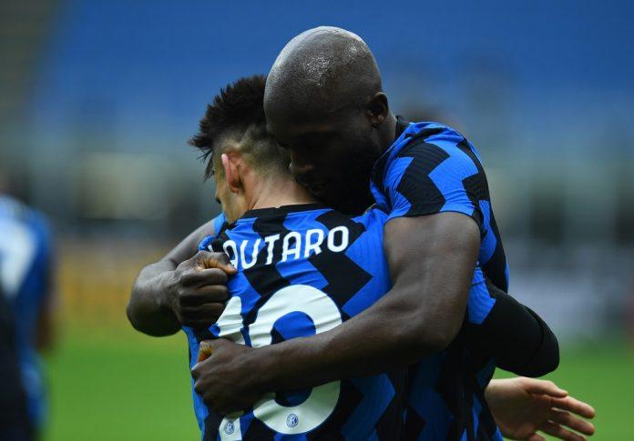 Lukaku e Lautaro representam pouco mais da metade dos gols Inter no Italiano, o melhor ataque da competição — Foto: Getty Images