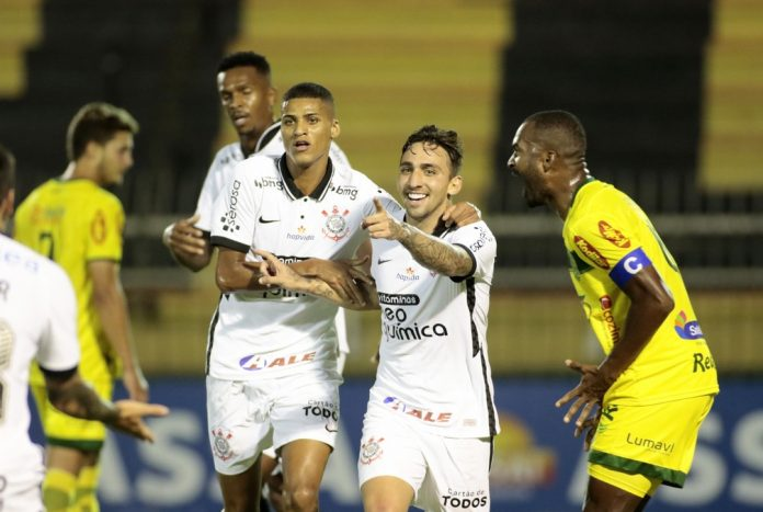 Gol de Gustavo Mosquito decidiu Mirassol x Corinthians