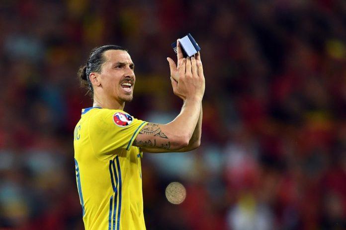 Ibrahimovic se despediu da Suécia na Euro 2016