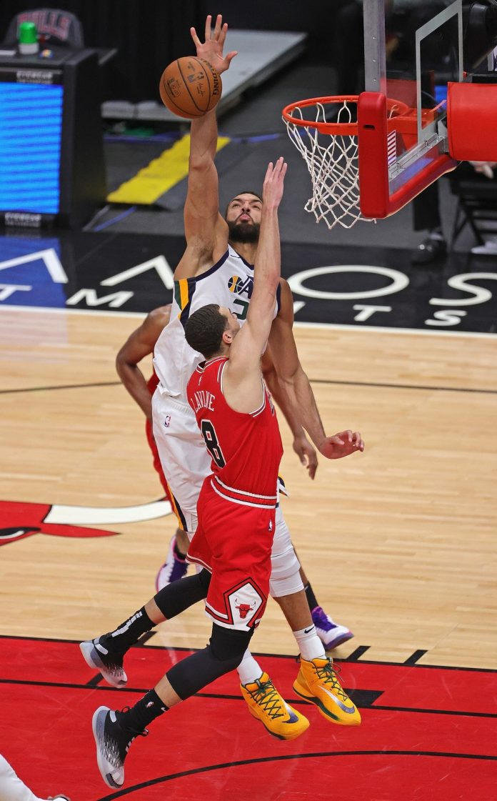 Rudy Gobert; NBA; Jazz