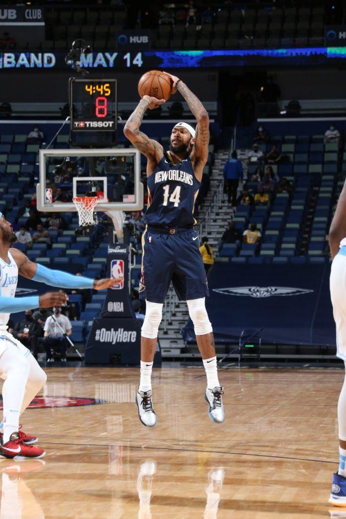 Bradon Ingram; NBA; Pelicans