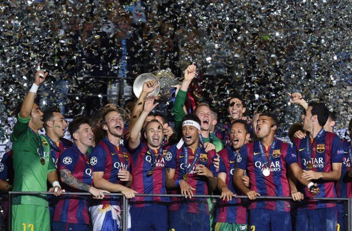 Último título do Barcelona na Liga dos Campeões foi na temporada 2014/15 — Foto: Pressefoto Ulmer\ullstein bild via Getty Images