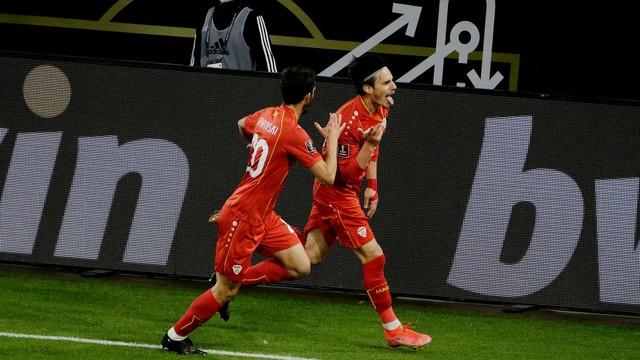 Macedônia vence Alemanha por 2 a 1 nas eliminatórias