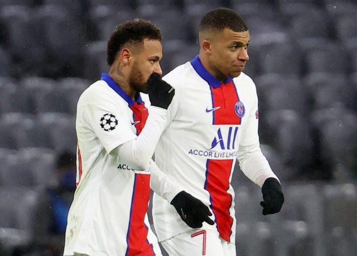 Neymar e Mbappé mostraram mais uma vez a afinação da dupla na Champions League