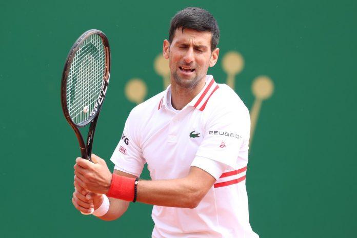 Djokovic está fora do Masters 1000 de Monte Carlo