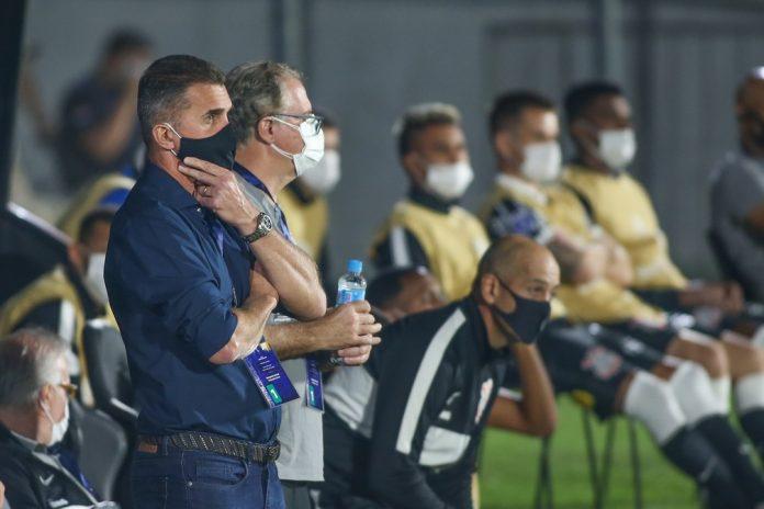 Vagner Mancini River Plate-PAR x Corinthians — Foto: Staff Images/Conmebol
