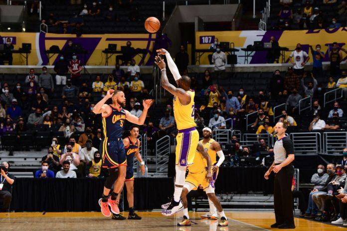 LeBron James fez a cesta da vitória