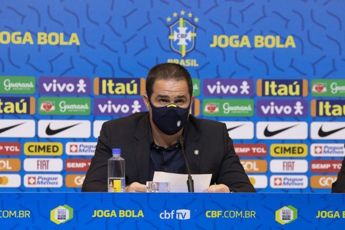 André Jardine na convocação da seleção brasileira olímpica