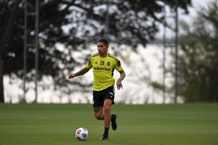 Guerrero atacante Inter — Foto: Ricardo Duarte / Internacional