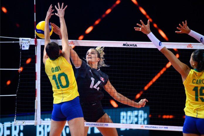 Brasil bateu o Canadá na estreia da Liga das Nações de vôlei